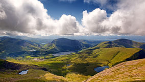 Ландшафт Snowdonia Стоковые Изображения