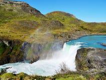 Ландшафт - Torres del Paine, Патагония, Чили Стоковое Изображение RF