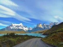 Ландшафт - Torres del Paine, Патагония, Чили Стоковая Фотография RF