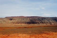 ландшафт turpan фарфора Стоковое фото RF