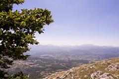 Ландшафт Viggiano Стоковые Изображения