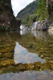 Ландшафт waterfal в Турции Стоковое Изображение