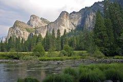 Ландшафт Yosemite Стоковое Фото