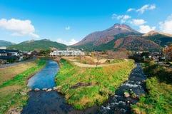 Ландшафт Yufuin Стоковые Фотографии RF