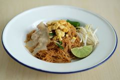 Лапша риса кокоса Стоковая Фотография