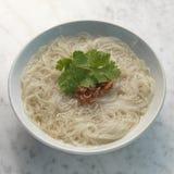 Лапша супа нервюры свинины Стоковое фото RF