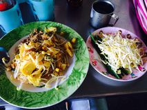 Лапша тайская Стоковые Фотографии RF