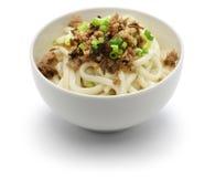 Лапши Дэн dan, кухня Сычуань китайца стоковое изображение