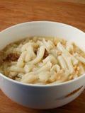 Лапши потехи Lai китайца в cheong подола и высушенном супе креветок Стоковое фото RF