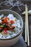 Лапши риса Стоковое Фото