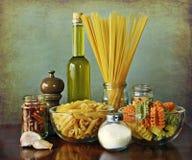 лапши чеснока chili aglio смазывают peperoncino olio Стоковые Изображения RF