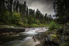 Лапландия, северная Финляндия стоковые изображения