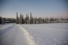Лапландия - luosto Стоковая Фотография