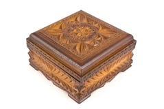 ларец деревянный Стоковые Изображения RF