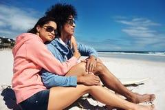 Ласковые пары латиноамериканца Стоковая Фотография