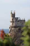 ласточка гнездя s замока Стоковые Изображения