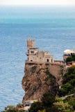 ласточка гнездя s Крыма замока Стоковое Фото
