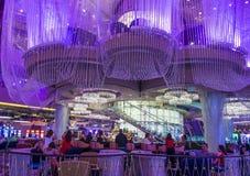 Лас-Вегас, бар люстры Стоковые Изображения RF