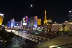 Лас-Вегас, взгляд ночи стоковая фотография