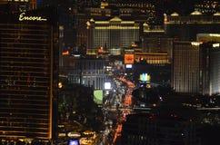 Лас-Вегас, гостиница Bellagio и казино, Лас-Вегас, район метрополитена, метрополия, ноча, город стоковые фото
