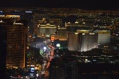 Лас-Вегас, гостиница Bellagio и казино, Лас-Вегас, район метрополитена, метрополия, горизонт, небоскреб стоковая фотография