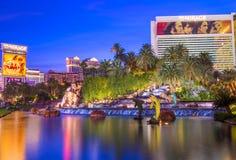 Лас-Вегас - мираж Стоковые Изображения RF