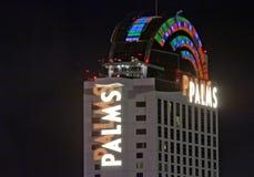 ЛАС-ВЕГАС, НЕВАДА - курорт казино ладоней стоковые фото