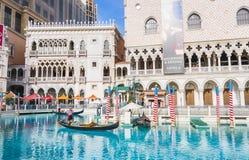 Лас-Вегас, Невада, США 5-29-17: Венецианские курортный отель & казино Стоковая Фотография