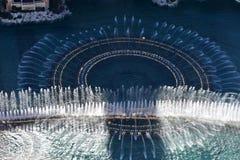 Лас-Вегас, Невада - США - 05,2017 -го июнь - выставка фонтана Bellagio Стоковая Фотография RF