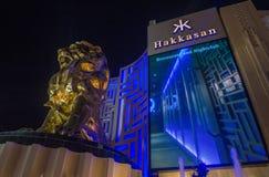 Лас-Вегас, ночной клуб Hakkasan стоковое изображение