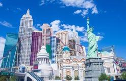 Лас-Вегас, Нью-Йорк Стоковое фото RF