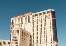 Лас-Вегас - 12-ое декабря 2013: Известные казино Лас-Вегас на Decem Стоковые Фотографии RF