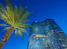 Лас-Вегас - 12-ое декабря 2013: Известные казино Лас-Вегас на Decem Стоковая Фотография