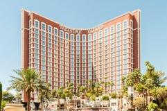 Лас-Вегас - 12-ое декабря 2013: Известные казино Лас-Вегас на Decem Стоковое Изображение RF