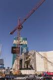Знак MGM, в Лас-Вегас, NV 5-ого марта 2013 Стоковая Фотография