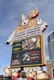 ЛАС-ВЕГАС - 6-ОЕ ФЕВРАЛЯ: Цирк цирка казино гостиницы 31-ого января 2014 в Лас-Вегас Стоковое Изображение