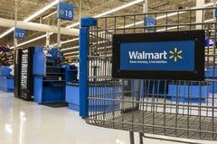 Лас-Вегас - около июль 2017: Положение розницы Walmart Walmart американская Транснациональная компания Розница Корпорация XIV Стоковая Фотография RF