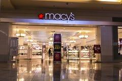 Лас-Вегас - около июль 2017: Универмаг Macys Macy's, Inc один из розничных торговцев Omnichannel премьер-министра Nation's VI Стоковое Изображение RF