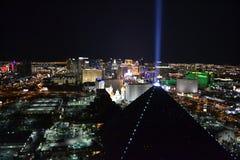 Лас-Вегас от высоты Стоковая Фотография