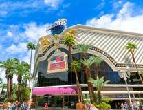 Лас-Вегас, Соединенные Штаты Америки - 5-ое мая 2016: Гостиница и казино ` s Harrah Стоковые Фотографии RF
