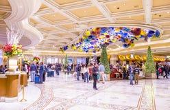 Лас-Вегас, Bellagio Стоковые Изображения RF