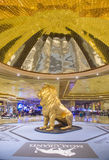 Лас-Вегас MGM стоковое изображение