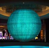 Лас-Вегас, Nevada/USA: 11-ое мая 2018: Красочная сфера в планете стоковое фото