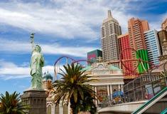 Нью-йорк - гостиница & казино нью-йорк стоковое изображение rf