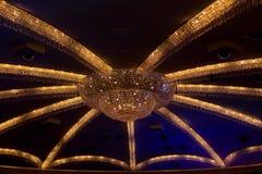 ЛАС-ВЕГАС, NV - 13-ОЕ ИЮНЯ 2017: Интерьер гостиницы дворца Caesars Стоковые Изображения