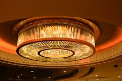 ЛАС-ВЕГАС, NV - 13-ОЕ ИЮНЯ 2017: Интерьер гостиницы дворца Caesars Стоковая Фотография RF