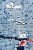 Латает предпосылку текстуры демикотона Стоковые Фотографии RF