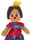 Латино-американская тряпичная кукла стоковые фото