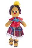 Латино-американская тряпичная кукла стоковые изображения rf