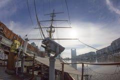 Латинская Америка Южная Америка Буэноса-Айрес Аргентины фрегата свободы Fragata Libertad гавани Madero славная Стоковое фото RF